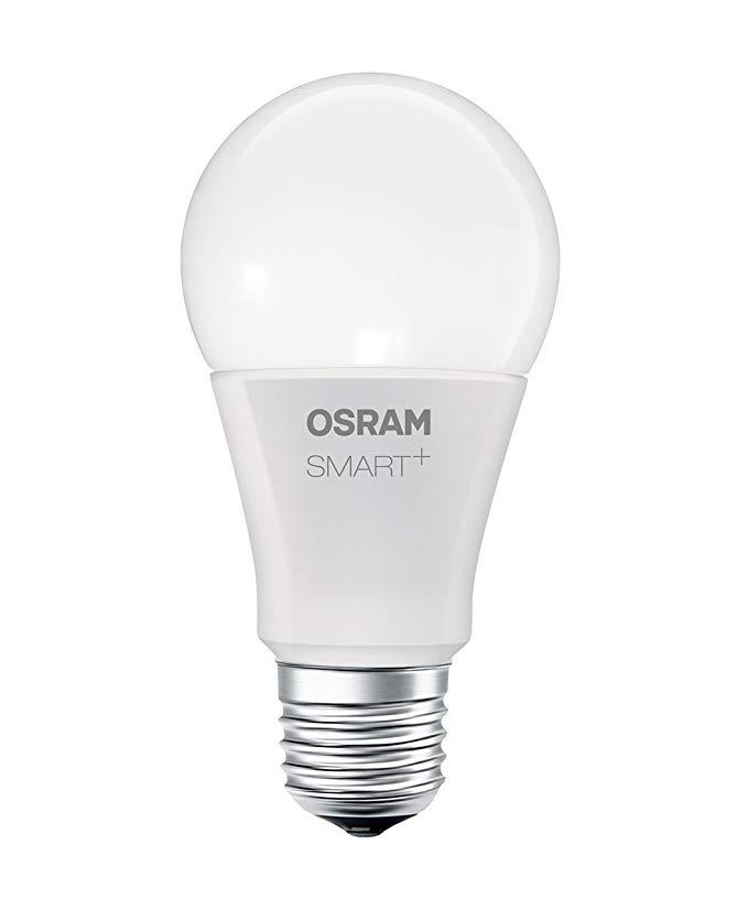 Osram thông minh + Apple Homekit LED bóng đèn kiểm soát màu sắc và mờ 2700 trên / thay thế 60W - trắ