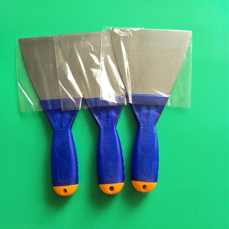 Hai màu nhựa xử lý putty dao scraper lưỡi làm sạch dao nhỏ blade glass dao putty dao màu xám dao ngh