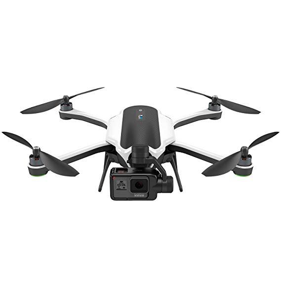 GoPro HERO5 Kết hợp máy ảnh thể thao màu đen với GoPro Karma UAV (bao gồm máy ảnh Hero5 và bộ ổn địn