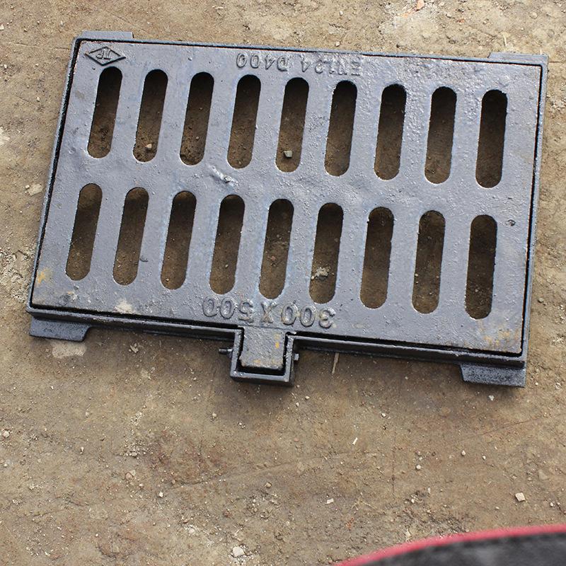 Nhà máy trực tiếp gang manhole bìa spheroidal gang cống rãnh bìa Dễ uốn sắt chống trộm nước bọ cạp