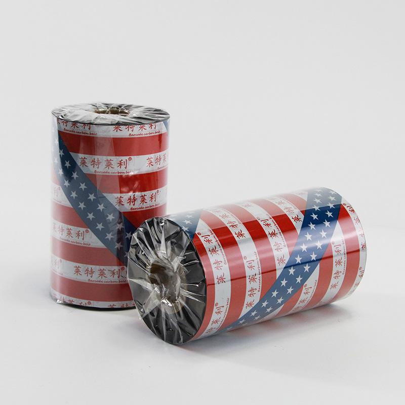 Lightley Riley Băng nhựa hoàn toàn 110 90 80 70 60 50 40mm * 300m Máy in mã vạch Ribbon