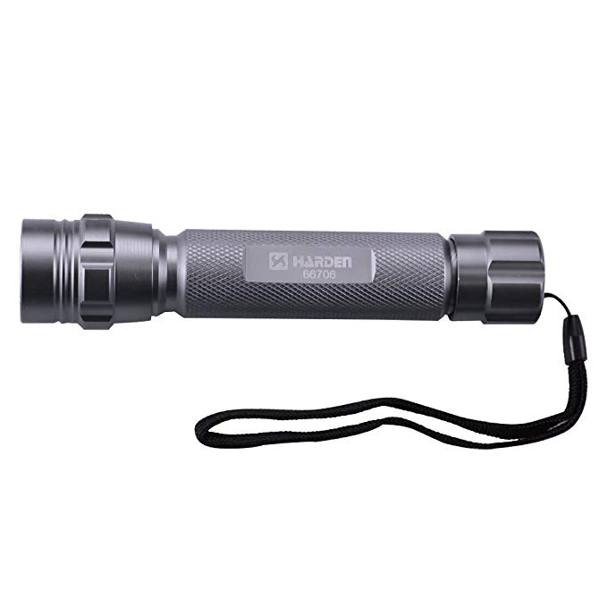 Harden Colinton Đèn pin chói LED Đèn pin tầm xa tiết kiệm năng lượng không thấm nước và chống sốc đi