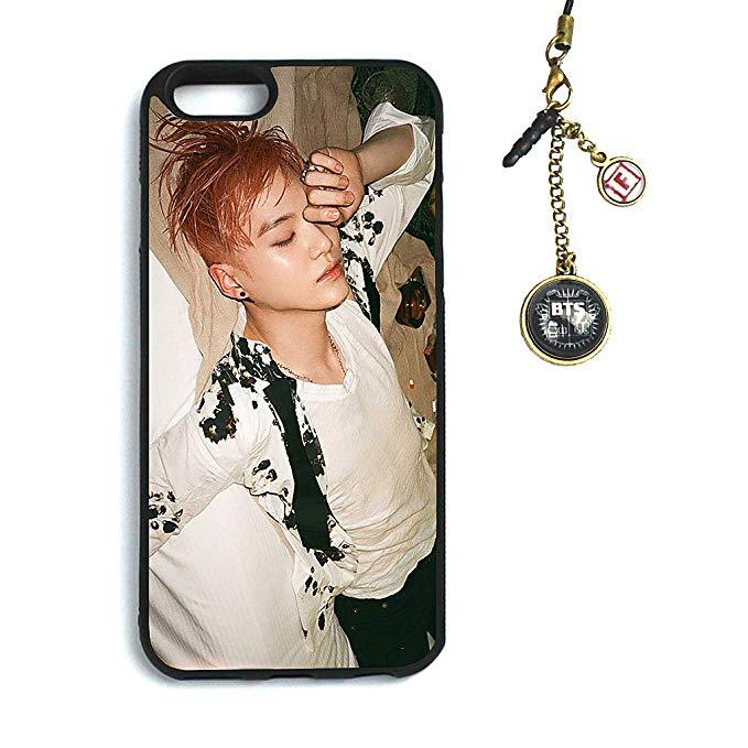 Fanstown BTS KPOP TRONG TÌNH YÊU cho tình yêu iphone6 trường hợp + bụi cắm đồ trang sức