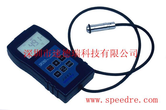 DR260 từ tính đo độ dày lớp phủ sơn phủ lớp màng máy đo độ dày lớp phủ dày đo độ dày