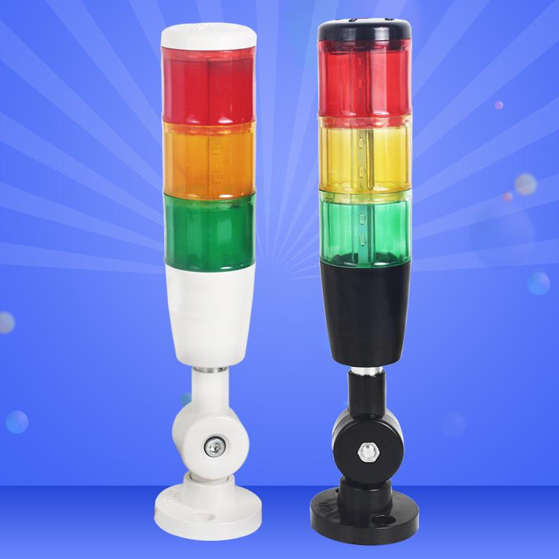 Chỉ báo cảnh báo thiết bị công cụ máy LED Đèn báo tín hiệu cảnh báo đa lớp Tri-color ngọn hải đăng â