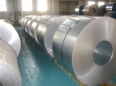 Độ dày chung Tấm thép mạ kẽm Baosteel 2.0 * 1000 * C Tủ phân phối điện DC52D + AZ150 Khai thác xén r
