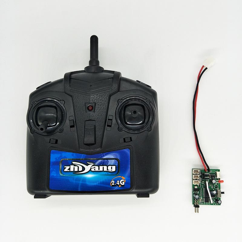 Bốn chiều điều khiển từ xa hệ thống máy bay bộ phận TỰ LÀM điều khiển từ xa receiver với con quay hồ