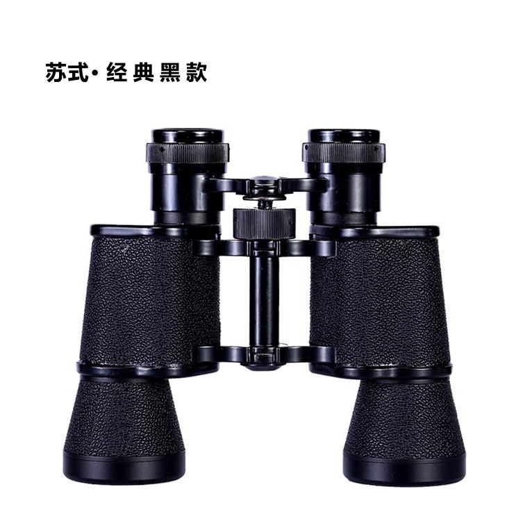 Kính viễn vọng độ nét cao đôi ống kính góc rộng, tầm nhìn ban đêm góc rộng 10X40, tầm nhìn thấp