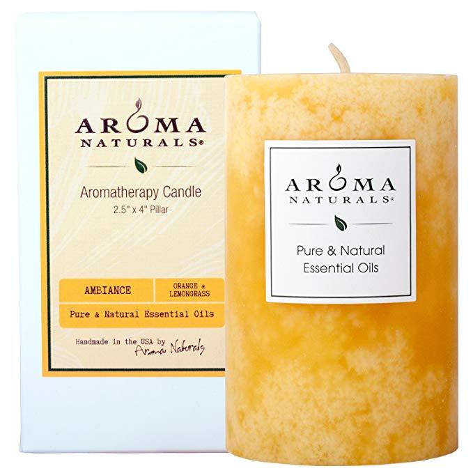 Aroma Naturals - sự pha trộn tự nhiên của các trụ cột của cây sả sinh thái màu cam sả