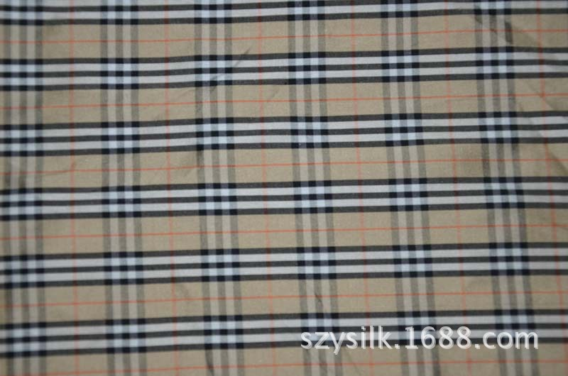 100% silk double Palace silk dyed fabric double Palace cloth dyed double Palace lattice