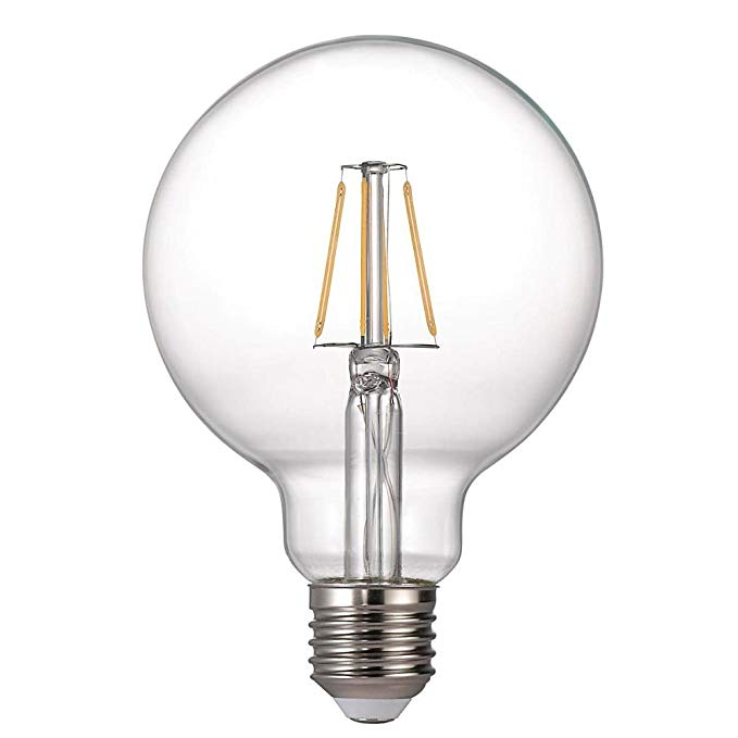 NORDLUX BULB E27 FILAMENT Kích thước 5W, kính, trong suốt, E27, 5,0 watt