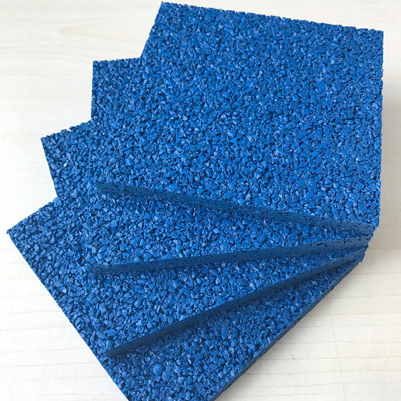 Mẫu giáo bảo vệ môi trường không độc hại epdm màu nhựa hạt vật liệu trường sân vận động nhựa