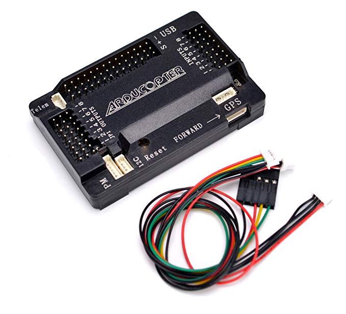 APM2.6 bảng điều khiển chuyến bay với kết nối pinned cho ArduPilot Mega 2.6 chuyến bay ban kiểm soát