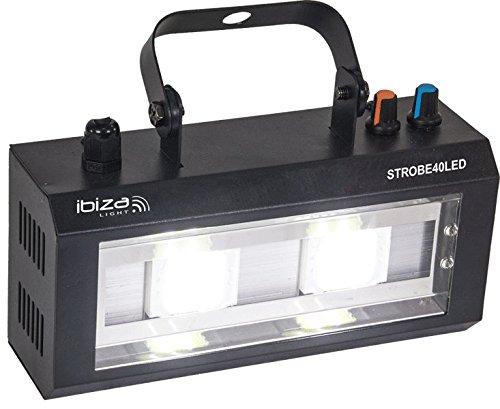 Ánh sáng & âm thanh ánh sáng Ibiza STROBE40LED ánh sáng điện 2x20W