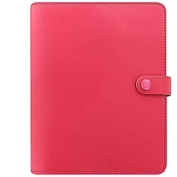 Filofax Fiera Gốc A5 022599 Coral Red Phổ Handbook Hành Lý Máy Tính Xách Tay Lỏng Máy Tính Xách Tay
