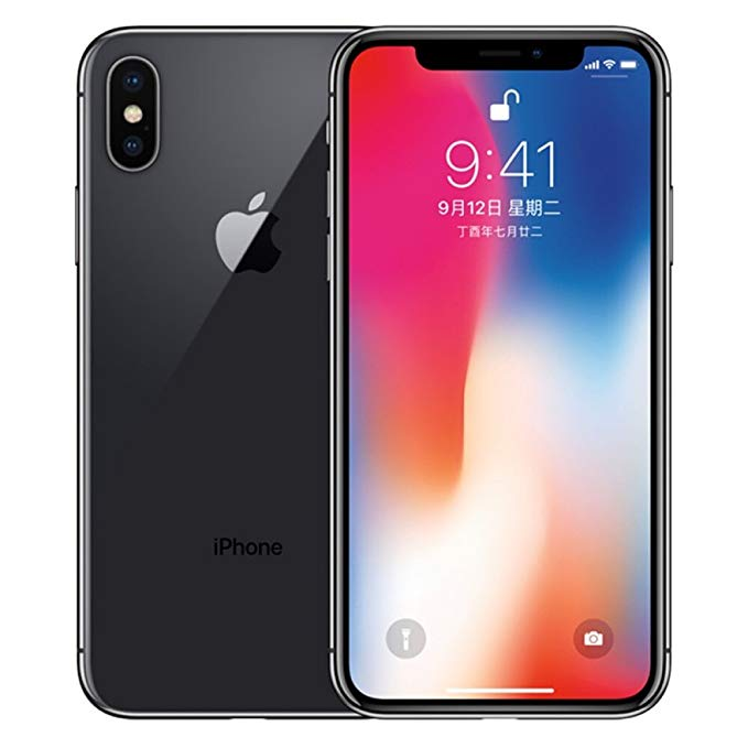Apple iPhone X Toàn bộ Netcom Mobile Unicom Telecom 4G Bán nóng (Deep Space Gray, 256G)