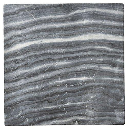 Đá cẩm thạch màu xám tự nhiên 24 cm [D H - 1,2 cm] r3070062