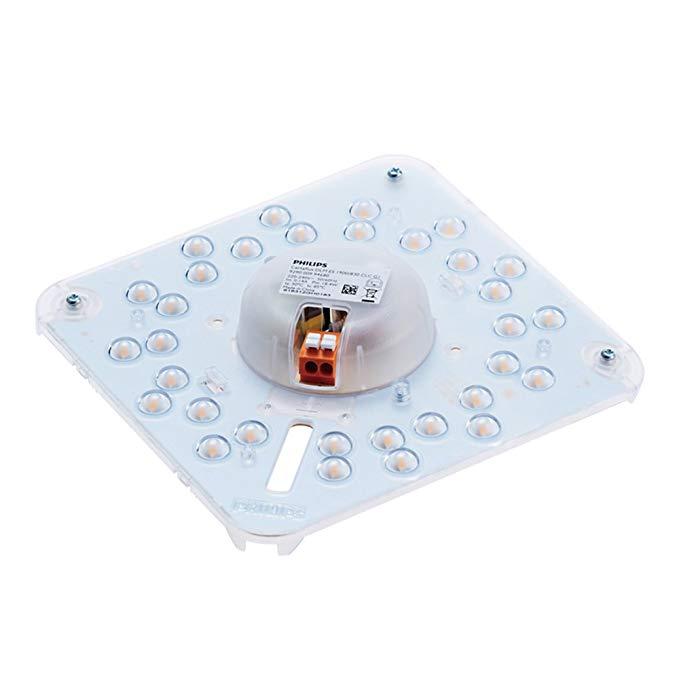 Đèn trần LED Philips Philips Đèn trang bị thêm đèn LED tích hợp Bảng đèn LED ánh sáng 19W 6500K Đèn