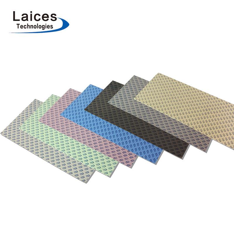 Điện tử cung cấp điện cao dẫn nhiệt silicone phim Máy Tính cpu đồ họa silicon làm mát phim 0.5 mét v