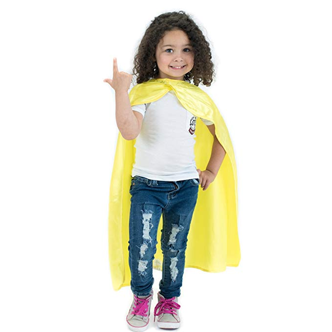 Áo choàng trẻ em siêu nhân màu vàng Everfan