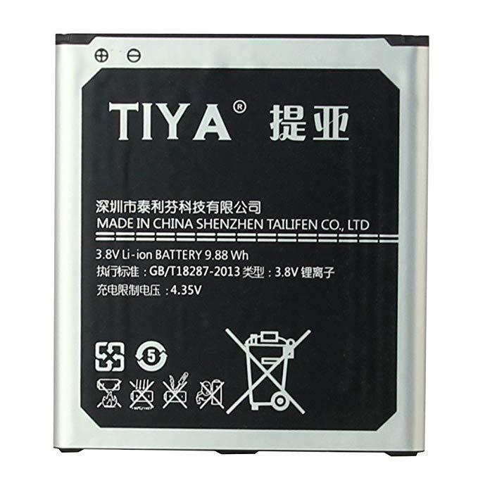Tiya Samsung Galaxy S4 điện thoại di động pin dung lượng cao cho GALAXY S4 I9500 / I959 / I9508 / I9
