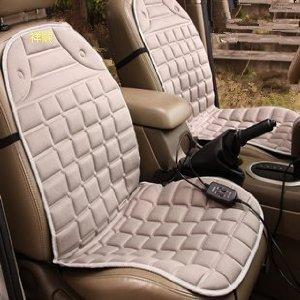 Xiangshun mùa đông ghế đệm sưởi ấm xe ghế đệm sưởi ấm chỗ ngồi sưởi ấm chỗ ngồi (đôi, màu xám)