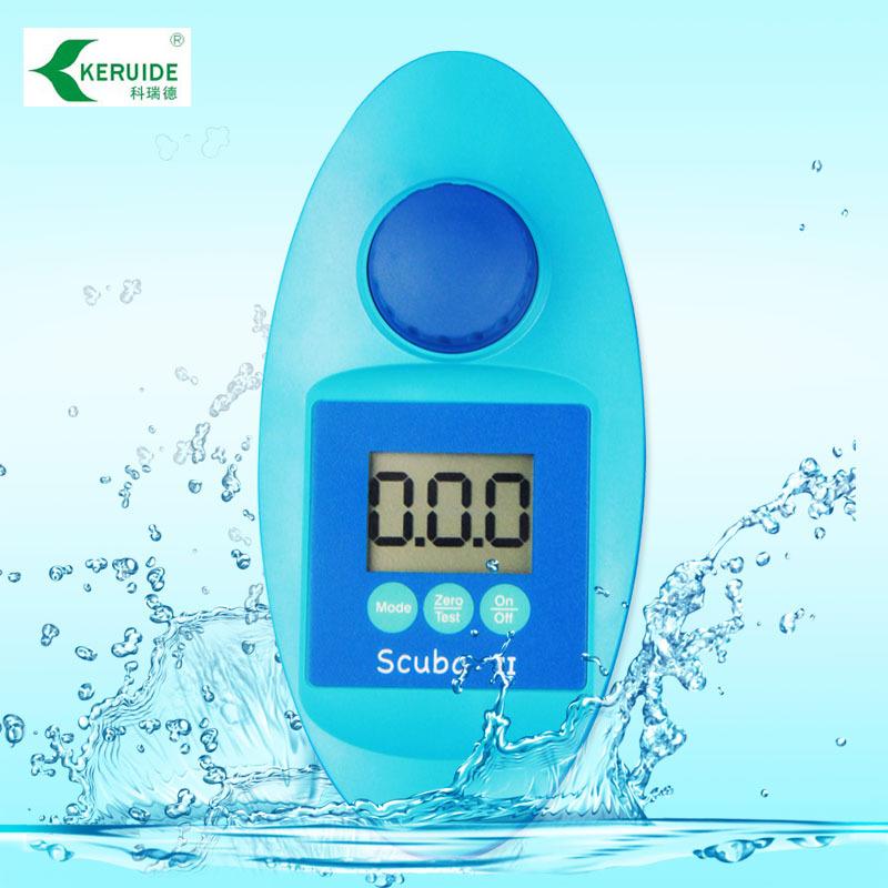Luo Weibang hồ bơi chất lượng nước detector Scuball thử nghiệm cầm tay cụ chất lượng nước năm thông