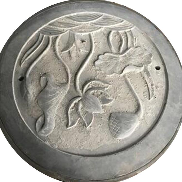 Nhà máy bán buôn tùy chỉnh cổ đá manhole bìa khắc nghệ thuật manhole bìa phố cổ phố cổ cửa cống bìa
