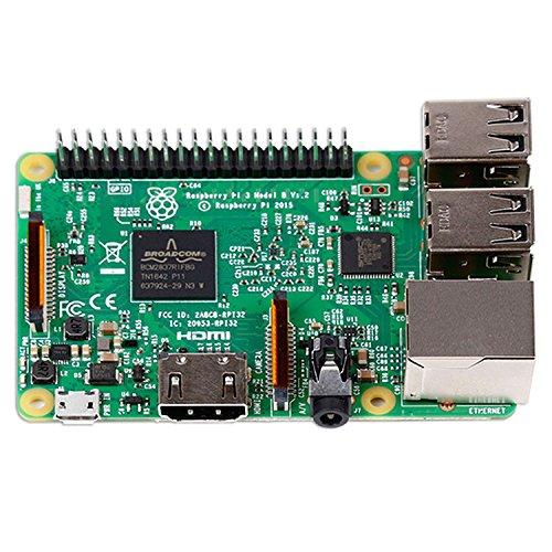 Raspberry Pi 3 Model B Bộ điều khiển Raspberry Pi thế hệ thứ 3 với bộ cấp nguồn 5V2.5A