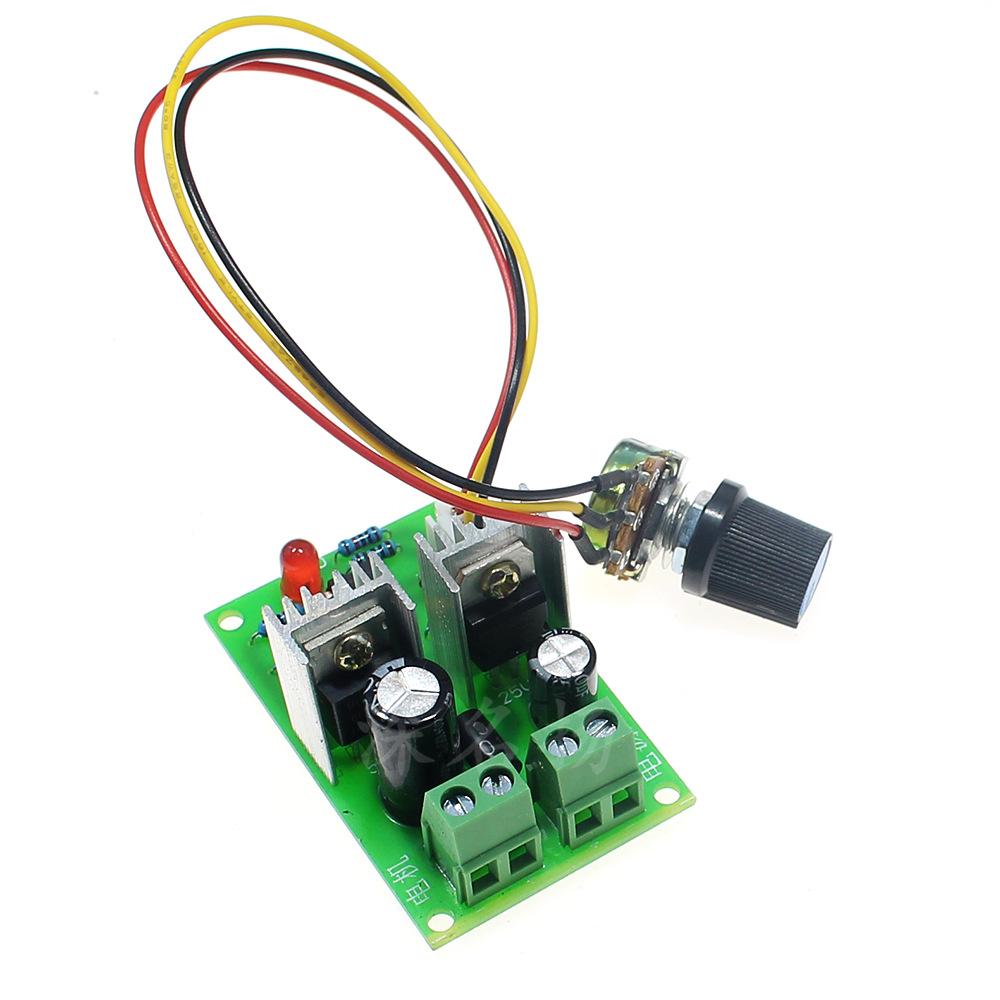 Micro đốc 12V24V36V phổ độ rộng xung PWM điều khiển động cơ DC tốc độ động cơ điều khiển