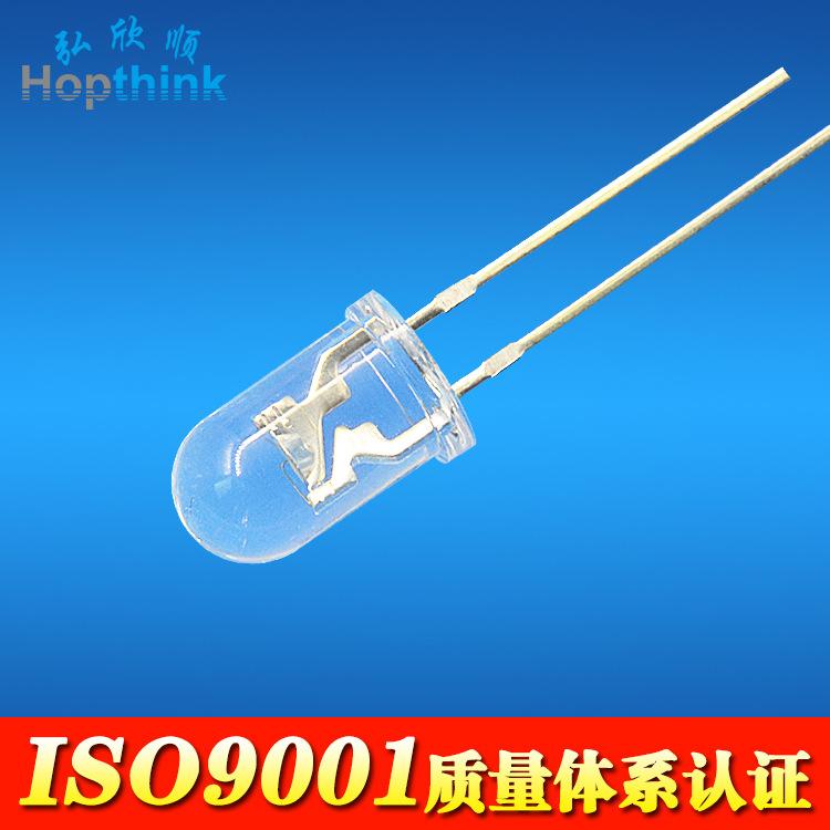 Nhà sản xuất 940nm ống phát xạ hồng ngoại Linh kiện điện tử Thiết bị quang điện 5mm ống phát xạ hồng