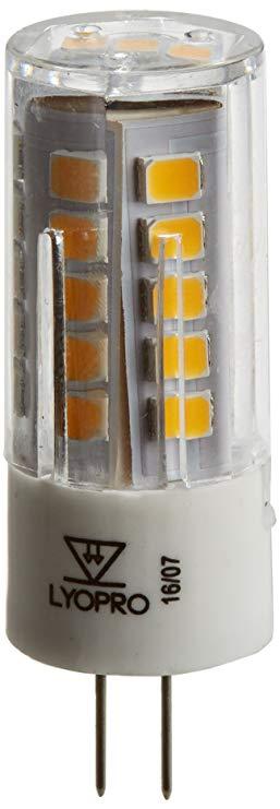 LYO Ấm G4 Đèn LED, 3 W, trắng, 1,5 x 4,4 cm