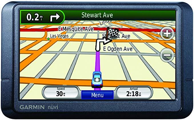 GARMIN nüvi 255 W / 255wt thiết bị định vị GPS cầm tay cỡ lớn 20 inch với lưu lượng truy cập màu đen