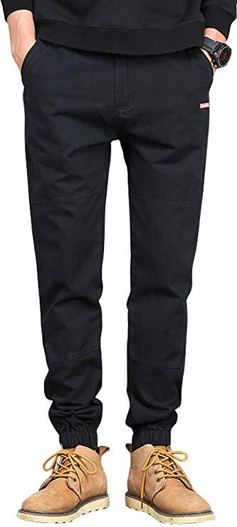 Berkron Đa túi quân phục quần nam cotton lỏng Harlan quần âu mùa xuân và mùa thu mùa quần off-road q