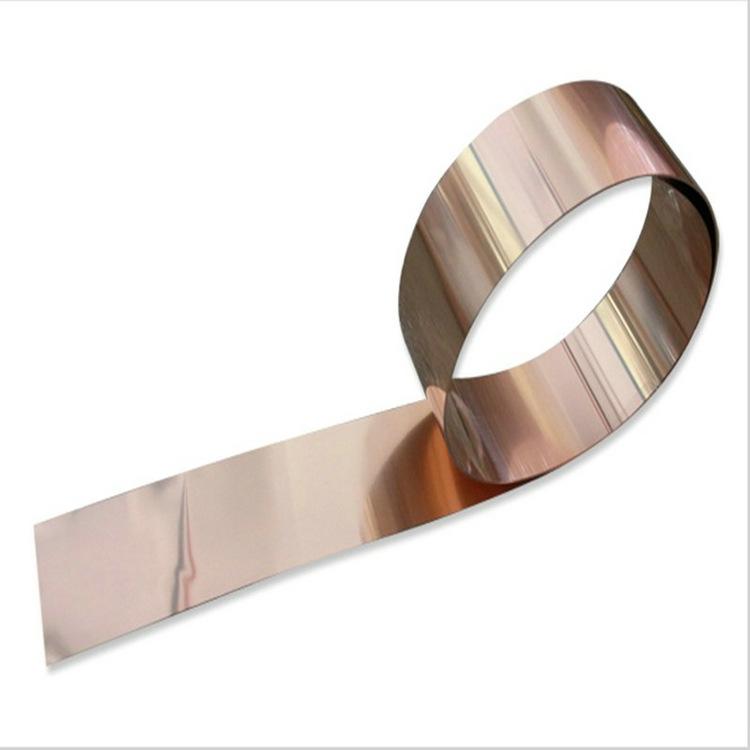 Đồng oxy-miễn phí băng đồng C1020 lá đồng C1220 bảo vệ môi trường đồng đồng tại chỗ