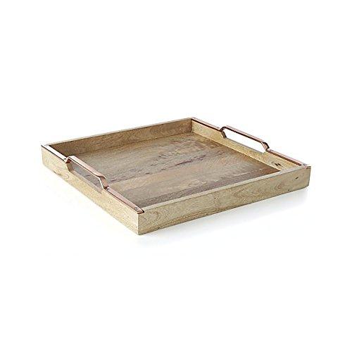 Madhu của BỘ SƯU TẬP khay gỗ incredible bằng gỗ brass xử lý