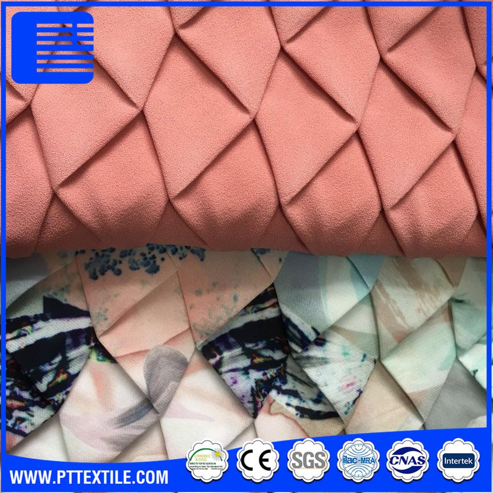 Áp lực gấp quần áo được trang trí bằng tay luggage ghế vải được in ấn