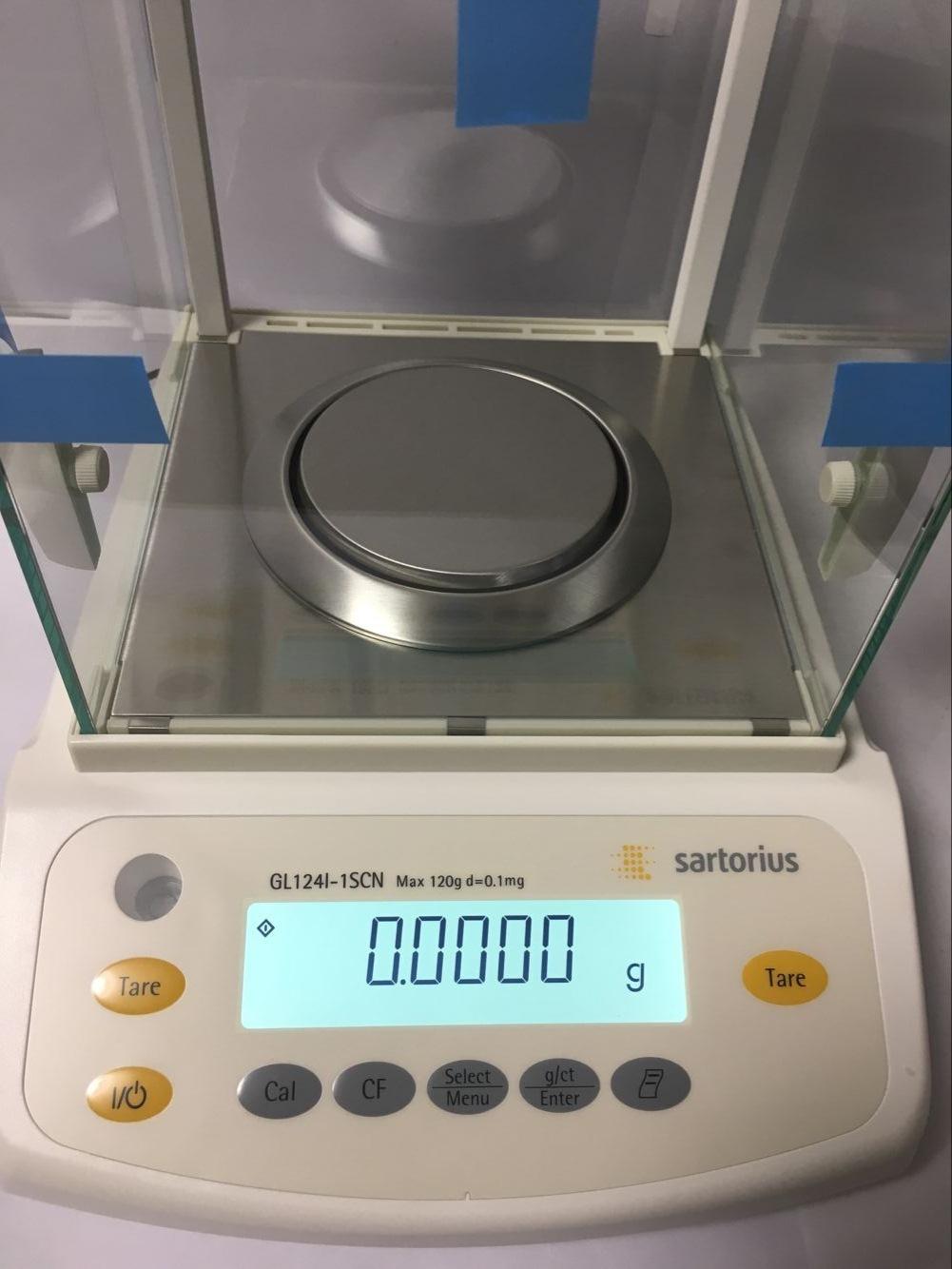 Dụng cụ phòng thí nghiệm Sartorius GL124-1SCN / GL224-1SCN Một mười nghìn cân phân tích điện tử