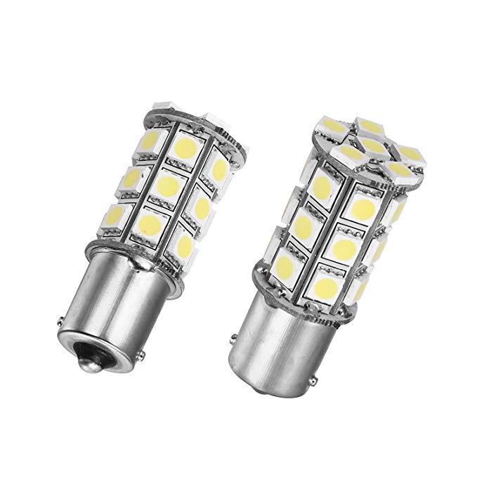 Merdia Metia 24 V 1156 đầu 27 hạt đèn trắng ánh sáng xe tải LED light / lái xe bao gồm bóng đèn / đả