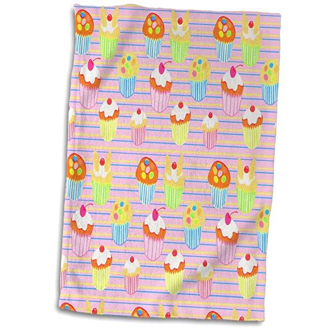 3 DRose Bánh Fun Pattern Hand / Thể Thao Khăn 38.1x55.9 cm
