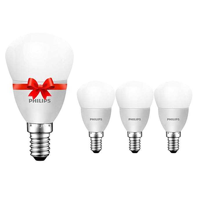 Bóng đèn Philips Philips LED 6,5W E14 Vít nhỏ trắng sáng 6500K