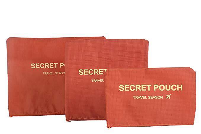 6-piece túi du lịch quần áo đóng gói túi lưu trữ túi của Rubik