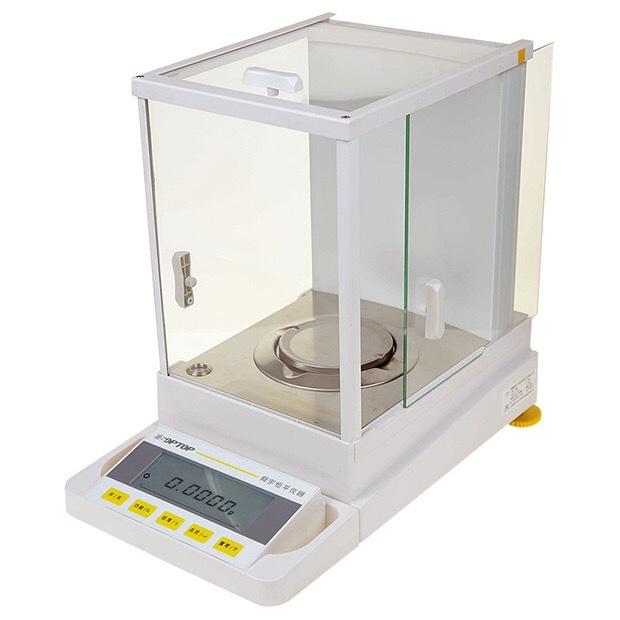 Điện tử quy mô Thượng Hải Haoyu Hengping cụ phòng thí nghiệm 0.1 mg độ chính xác cao một mười ngàn m