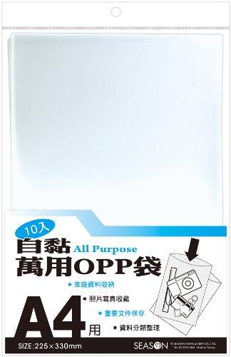 SEASON Đài Loan Bốn mùa SA1509 Túi OPP - A4