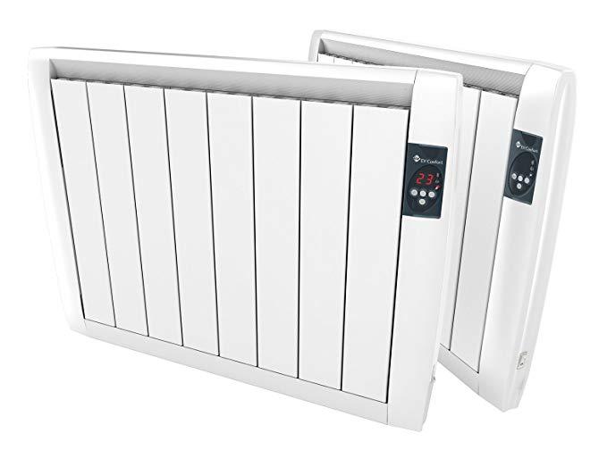 Nhiệt trực tiếp EVSL-750 750W Slimline khô tản nhiệt điện