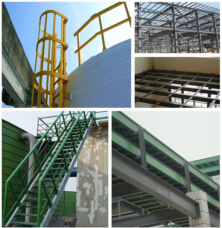 Các nhà sản xuất thép hàng kính kéo vắt Profiles thép chữ I FrP cao cường không có cơ sở đảm bảo chấ