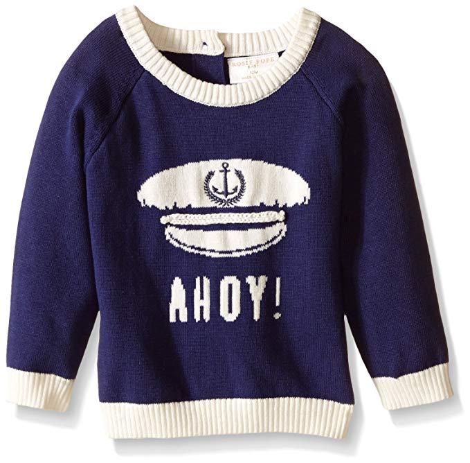 Áo len bé trai Ahoy Rosie Pope
