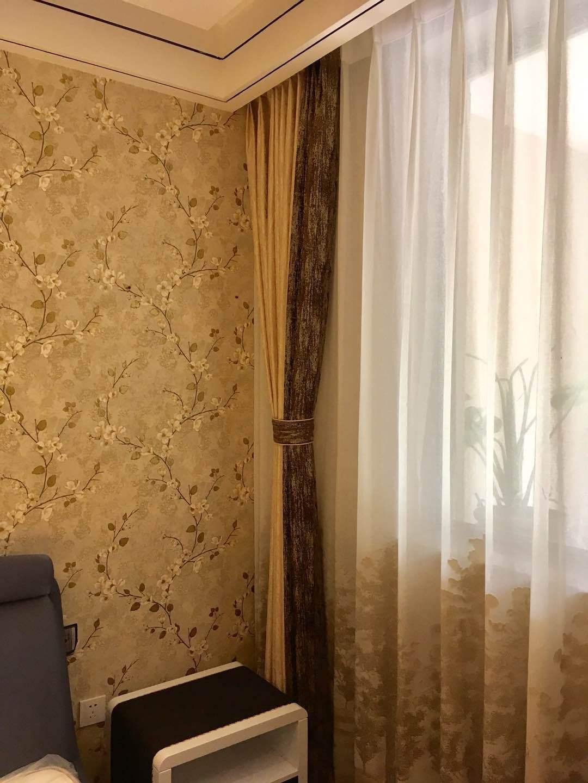 Rèm cửa phòng ngủ, phòng khách hàng thành phẩm đơn giản. Tất cả cửa sổ hiện đại vải