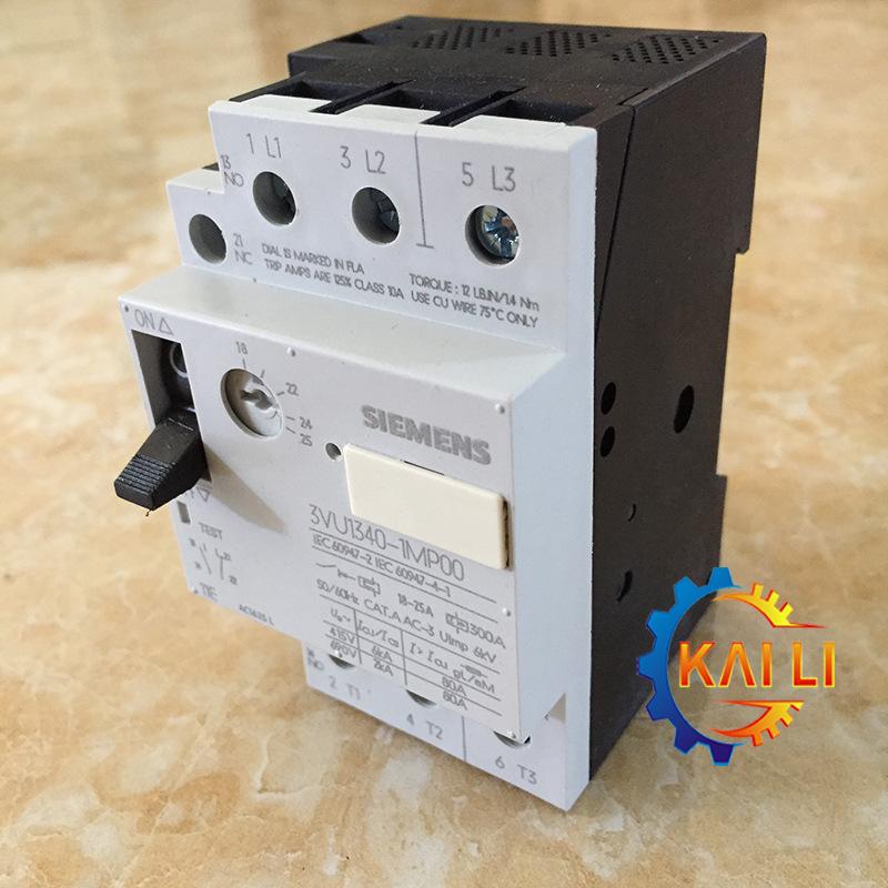 Gốc xác thực 3VU1340-1MN00 Siemens bảo vệ động cơ circuit breaker 14-20A / 1NO + 1NC
