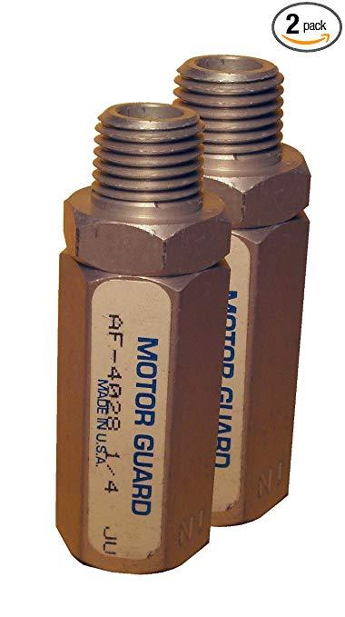 Bảo vệ động cơ AS4028-2 1/4 NPT Bộ lọc khí nén, 2 gói